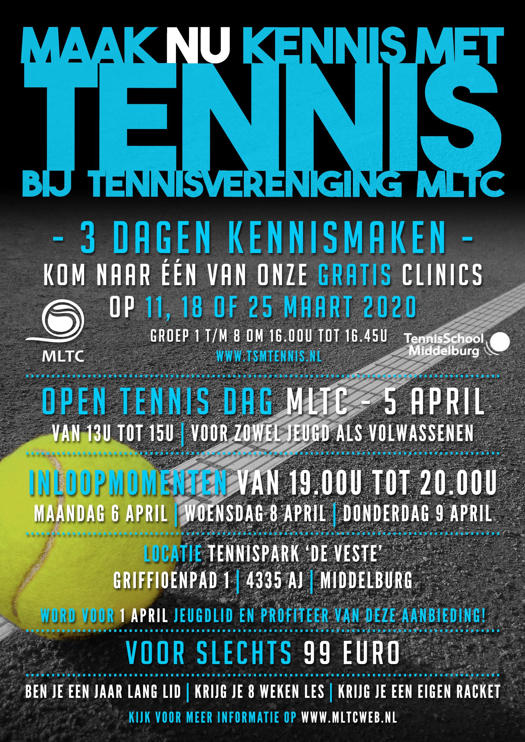 Clinics & Open Dag 2020